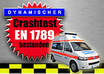 Crash-test series of Volkswagen Transporter (VW T5) successfully completed!