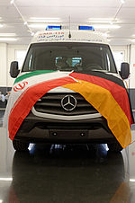 C.MIESEN receives major order from Iran for a conversion of 800 ambulance vehicles