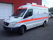 ON SALE:<br>Miesen Rescue Ambulance on Mercedes-Benz Sprinter 224